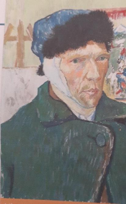 Painting of Vincent Van Gogh