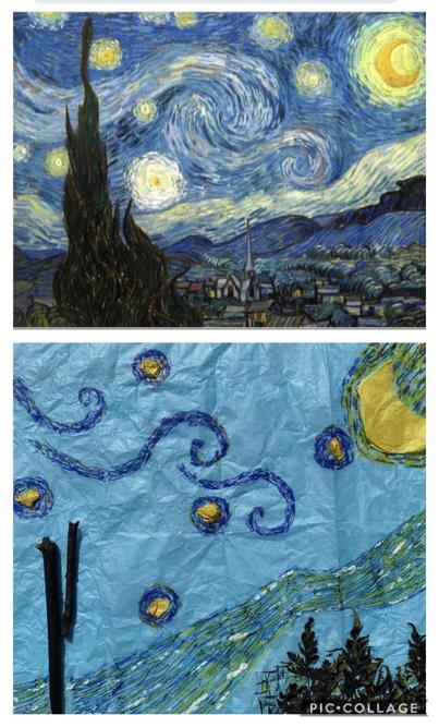 Leon's lovely art work
