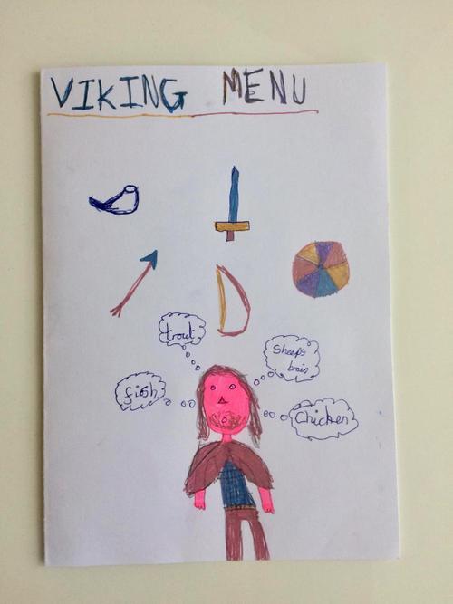 Chloe's Viking menu