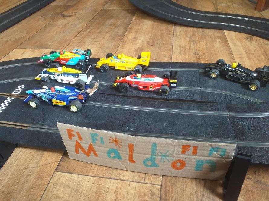 The Maldon F1 circuit!