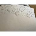 Lottie's writing
