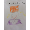 Chloe's picture of Willy Wonka
