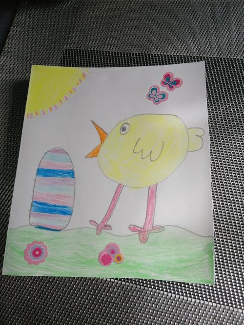 Emily's Easter art