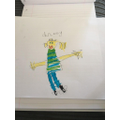 Lottie drew a picture of Charlie
