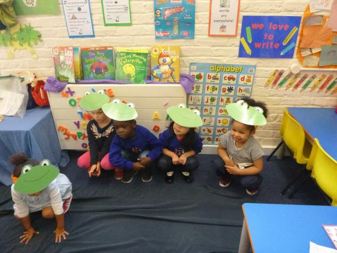Five Little Nursery Frogs!