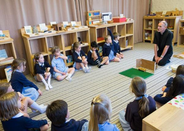 Godly Play Session at St Mary's