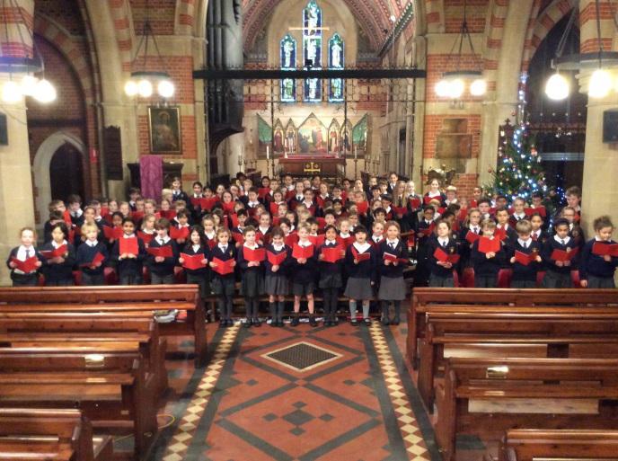 Junior Carol Concert in All Saints' Church