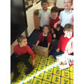 We love being creative, making things out of boxes!