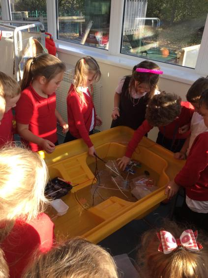 Investigating to see if our models sink or float.