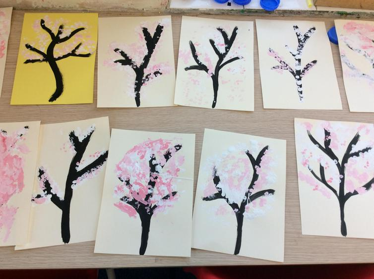 Our Chinese New Year paintings.