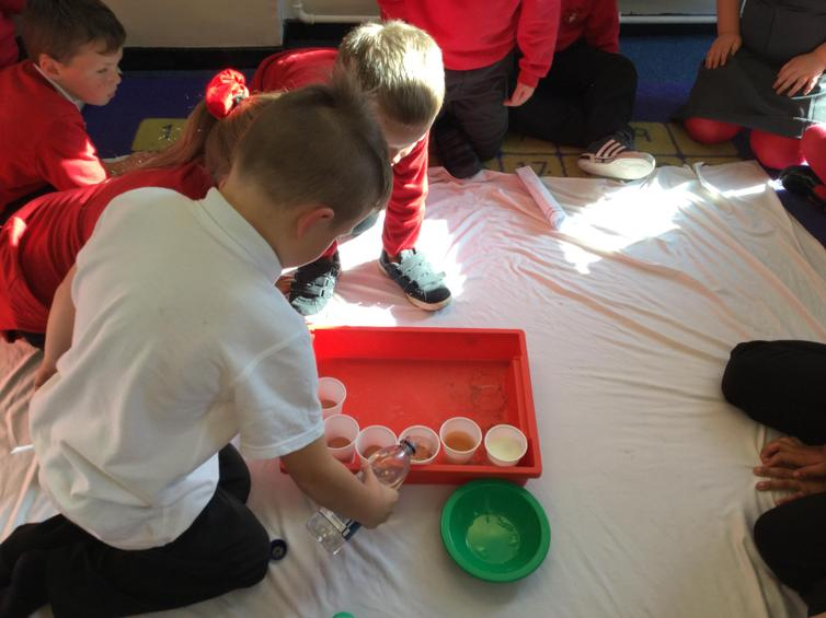 Organising a Labelling experiment in groups