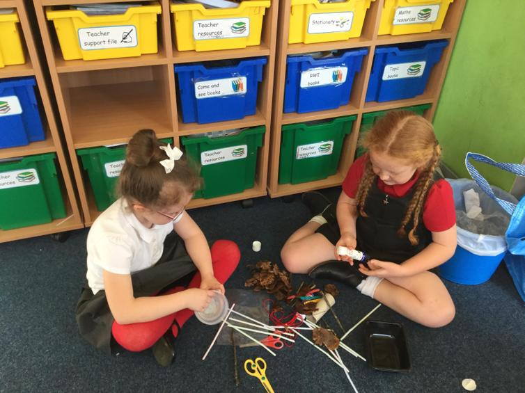 Preparing  for our STEM activity