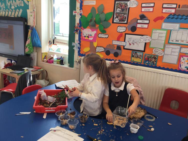 Exploring materials to build boats