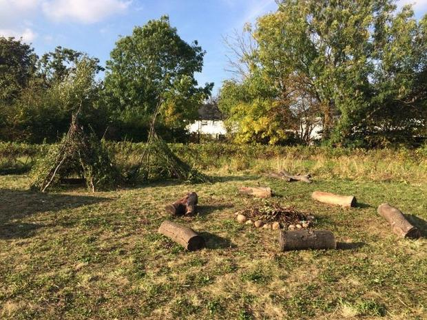 Fire Pit and Dens