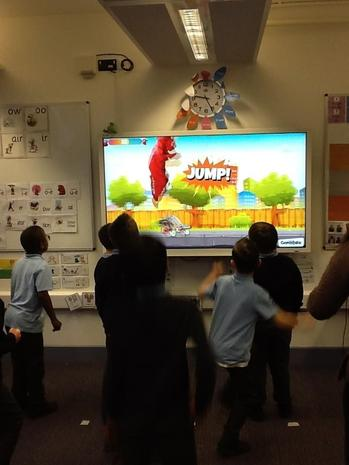 Our GoNoodle Warm Up.