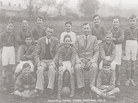 Pineapple Football Champions 1936-7