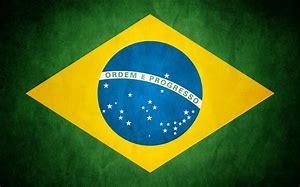 The Brazilian National Flag - 'Verde e Amerela'