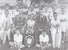 Pineapple Cricket Champions 1937-8