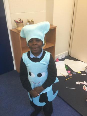 I'm an octopus! We love roleplay.