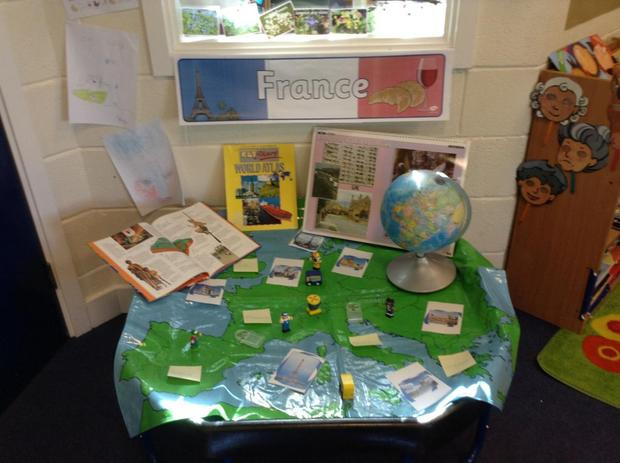 A France tray for Geography week