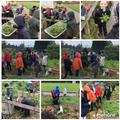 Preparing our sensory garden for planting