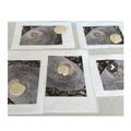 Salt dough fossils.