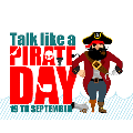 On Talk Like a Pirate Day, children, parents and staff shared pirate jokes!
