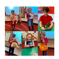 Show and Tell assembly with our friends learning from home.
