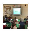 We have used the Pages app on our iPads to create notes about Rivers in Shared Reading.