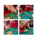The children designed their own reindeer biscuits using icing and skittles.