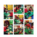 Learning how to make play dough to help us write our instructions for Year 2