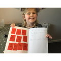 Iris's Chinese New Year writing