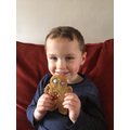 Owen's delicious Gingerbread Man