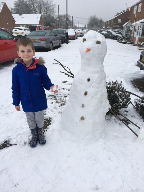Hayden and Snowman 1