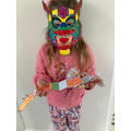 Harper's Chinese dragon mask