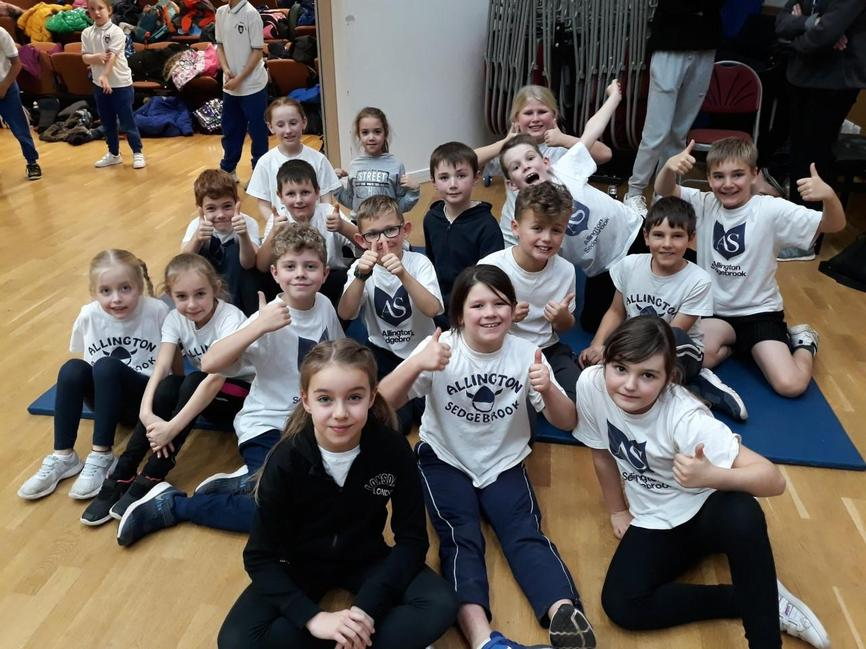 Y4 Cheerleading Festival