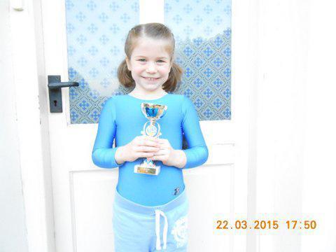 Gymnastics award