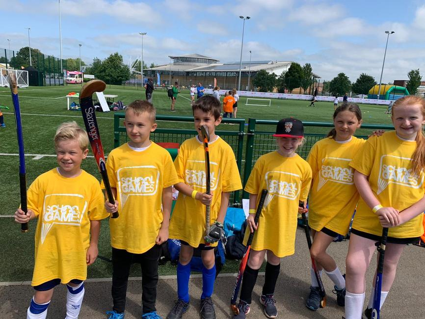 School Games - hockey