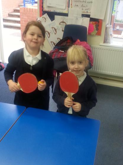 'Try a club' - table tennis