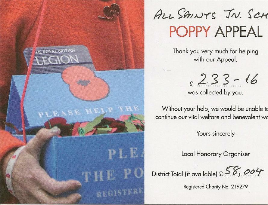 Poppy Appeal 2018