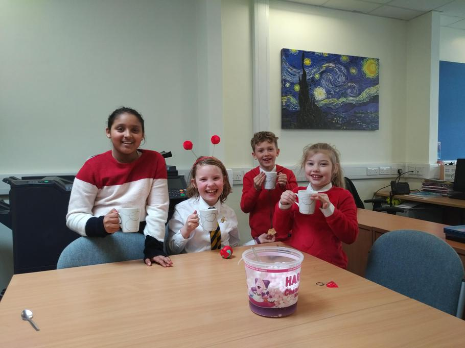 15th March 2019 with added Red Nose Day redness