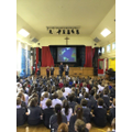Rev Toby's assembly on peace.