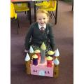 A castle fit for a princes!