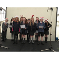 Christmas singing competition.