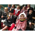 Performing our own panto!