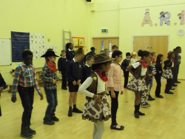 UKS2 finding out what it was like in the wild west