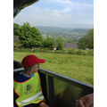 The views over Matlock were stunning.