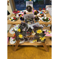 Early Years' Easter gardens