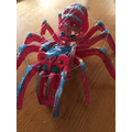 This is a great spider model Hannah!