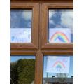 Kitty's rainbows